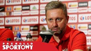 Jerzy Brzęczek przed meczem Austria - Polska w el. EURO 2020