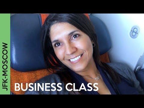 AEROFLOT Flight To Moscow | JFK-SVO BUSINESS CLASS - Wow!!!