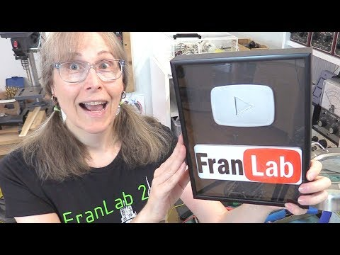 How To Get A YouTube Silver Play Button!! ((Make It Yourself!))