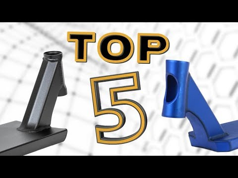 TOP 10 LIGHTEST PRO SCOOTER DECK for STREET