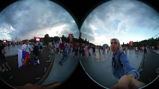 VR. Матч Россия-Испания. Fan Zone Moscow. 360 VR. Russia v Espana2