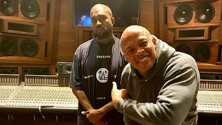 Kanye West and Dr. Dre working on Jesus is King 2
