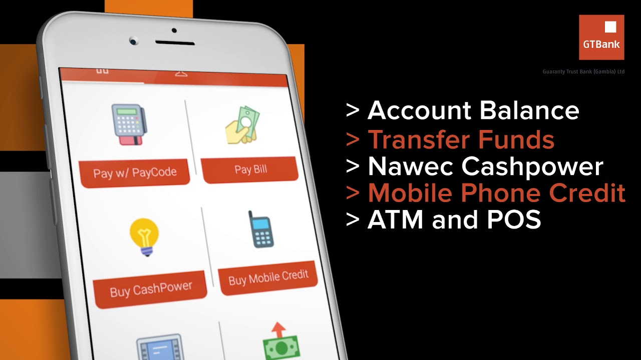 GTBANK Mobile App: Internet Banking with Speed - ESTHER ADENIYI