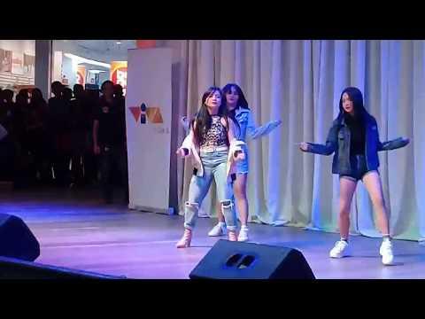 Ella Cruz slaying her dance performance at the #CryNoFearMovieTour! @ Market Market (June 10, 2018)