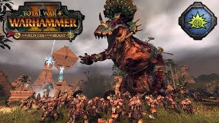 DREAD SAURIAN DISASTER! - The Hunter and the Beast DLC - Total War Warhammer 2