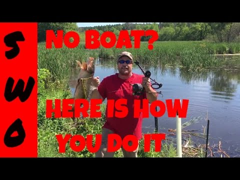 How To Bowfish From Shore