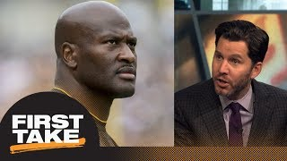 Steelers fans should have 'huge' problem with Patriots signing James Harrison | First Take | ESPN