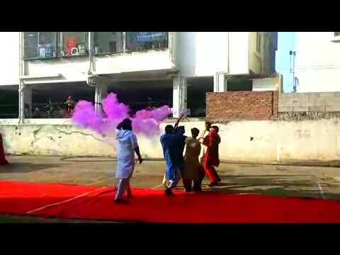 FLASHMOB 2018 - GPRCP TRADITIONAL DAY (G.PULLA REDDY COLLEGE OF PHARMACY)
