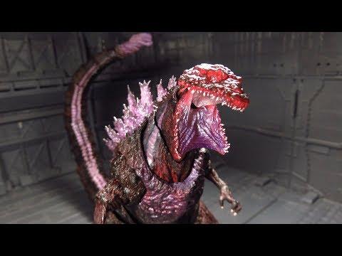 SH MonsterArts Shin Godzilla Fourth Awakening Version Figure Review
