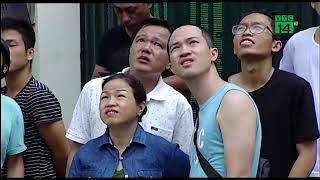 Chạy bộ 23 tầng để thoát thân do ảnh hưởng động đất từ Trung Quốc| VTC14