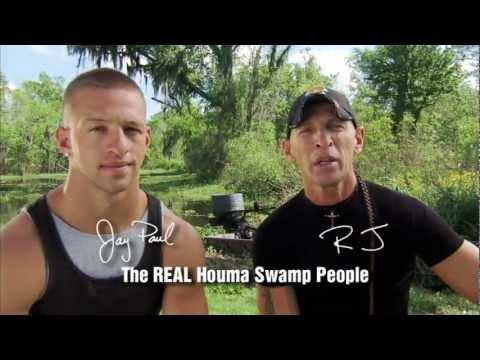 Swamp People R.J. and Jay Paul in Houma, Louisiana