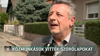 Közmunkások vitték ki a Fidesz szórólapjait Komlón 19-09-12