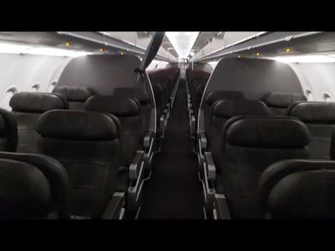 American Airlines Cabin Tour Airbus A321-200S 32B