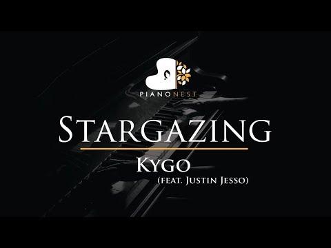 Kygo - Stargazing (feat. Justin Jesso) - Piano Karaoke / Sing Along / Cover With Lyrics