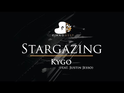 Kygo - Stargazing (feat. Justin Jesso) - Piano Karaoke / Sing Along / Cover with Lyrics