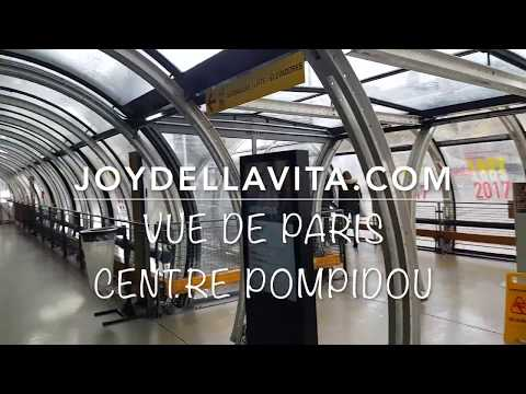 VUE DE PARIS View of Paris - Centre Pompidou | JoyDellaVita Travelblog