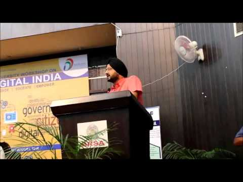 Digital India Workshop,  NSS, University of Jammu.