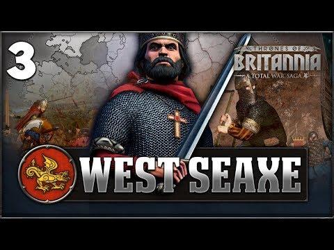 VIKING INVASION! Total War Saga: Thrones of Britannia - West Seaxe Campaign #3