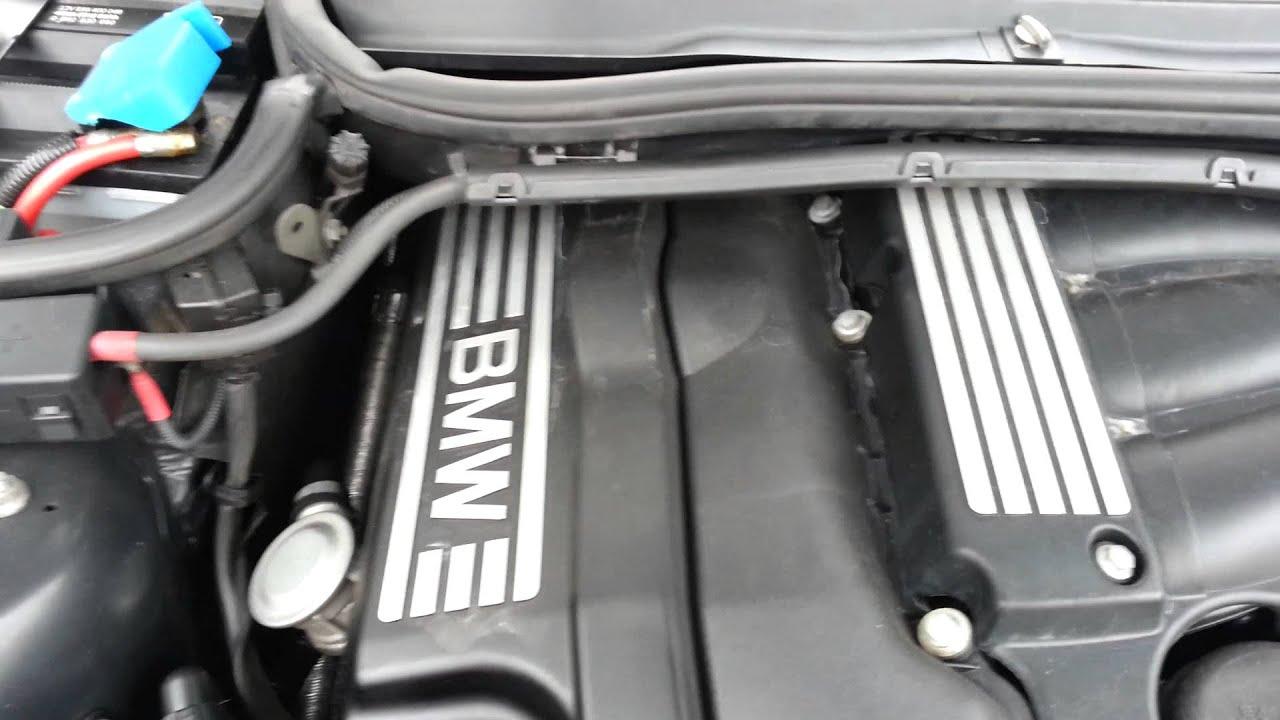 Rattle Sound Of Broken Vacuum Pump Vakuumpumpe E46 318i