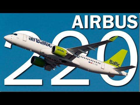 Airbus A220 I Живая эффективность