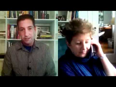 Glenn Greenwald and Katha Pollitt- Ron Paul Vs Barack Obama