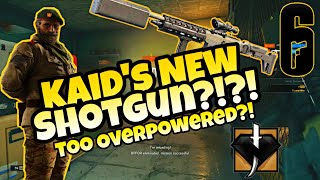 NEW!! KAID Shotgun BUFF!!! Too Overpowered!?! UBI PLEASE NO NERF (PS4) (Rainbow Six Siege) 2019!!