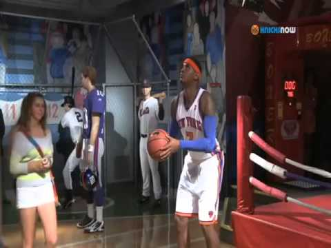 Carmelo Anthony Or A Wax Figure?