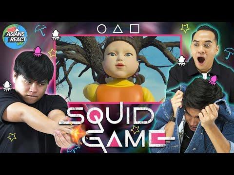 Asians React: Netflix's Squid Game