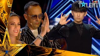 CHINESE MENTALIST wins GOLDEN TICKET after being REJECTED | Auditions 4 | Spain's Got Talent 2021