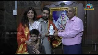 Shilpa Shetty Visits Shirdi for Sai Baba Darshasn | NTV Entertainment