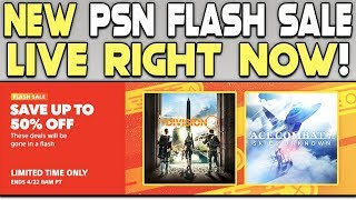 NEW PSN FLASH SALE LIVE RIGHT NOW - MORE GREAT PS4 GAME DEALS!