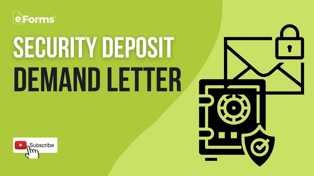 North Carolina Security Deposit Demand Letter from i.ytimg.com