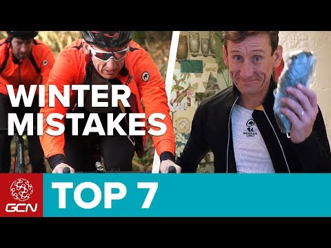 Top 7 Winter Riding Mistakes