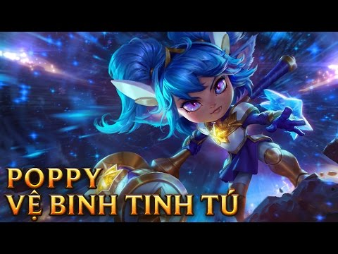 Poppy Vệ Binh Tinh Tú - Star Guardian Poppy - Skins lol