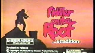 Fiddler on the Roof 1979 re-release TV trailer