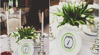 Свадьба под ключ Свадебное оформление зала(Зал сам по себе шикарный, поэтому было принято решение обыграть люстры, на которые мы повесели дождики из..., 2015-03-05T19:22:12.000Z)