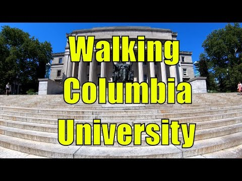 ⁴ᴷ Walking Tour of Columbia University in Manhattan, NYC