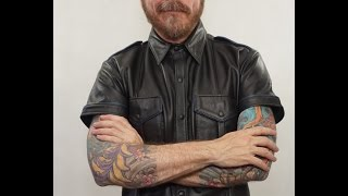 Mr S Leather Police Shirt
