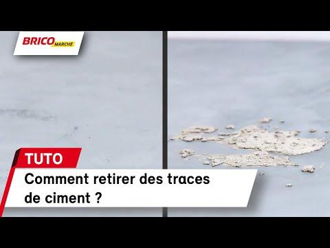 Comment Retirer Des Traces De Ciment Bricomarche Youtube