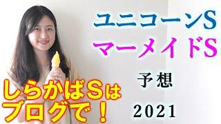 【競馬】ユニコーンS マーメイドS 2021 予想 (スレイプニルSはブログで予想!)ヨーコヨソー