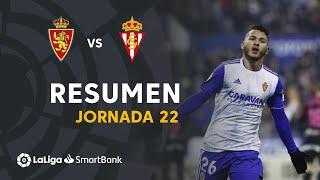 Resumen de Real Zaragoza vs Real Sporting (2-0)