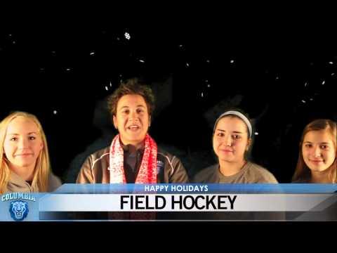 Happy Holidays From Columbia Field Hockey