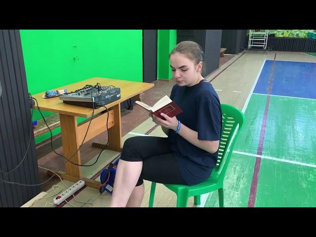 Рязанцева Дарья читает произведение «Зачем и о чем говорить?..» (Бунин Иван Алексеевич)
