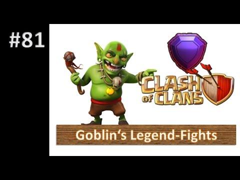 Clash of Clans - Goblin's Legend-Fights - Gameplay [deutsch/german]