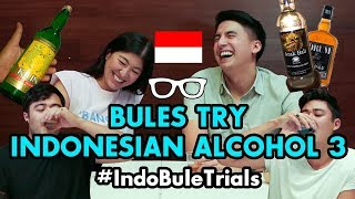 Download lagu #IndoBuleTrials: Bules Try Indonesian Alcohol 3 | FAMILY EDITION!