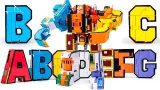 alphabet transformer warriors a b c d e f g sevenform builderrobot docking transformation