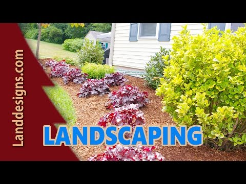 QUICK EASY FRONT YARD LANDSCAPE DESIGN IDEAS