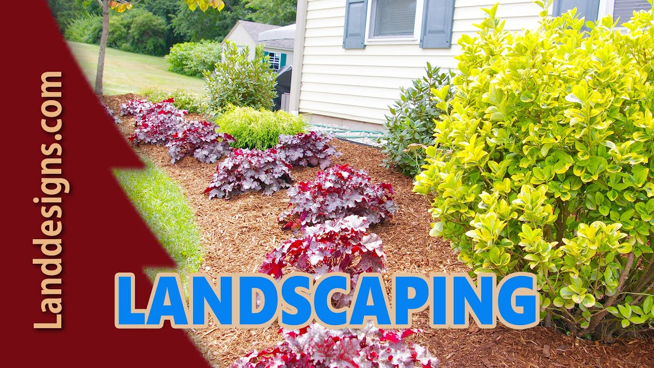 QUICK EASY FRONT YARD LANDSCAPE DESIGN IDEAS - YouTube