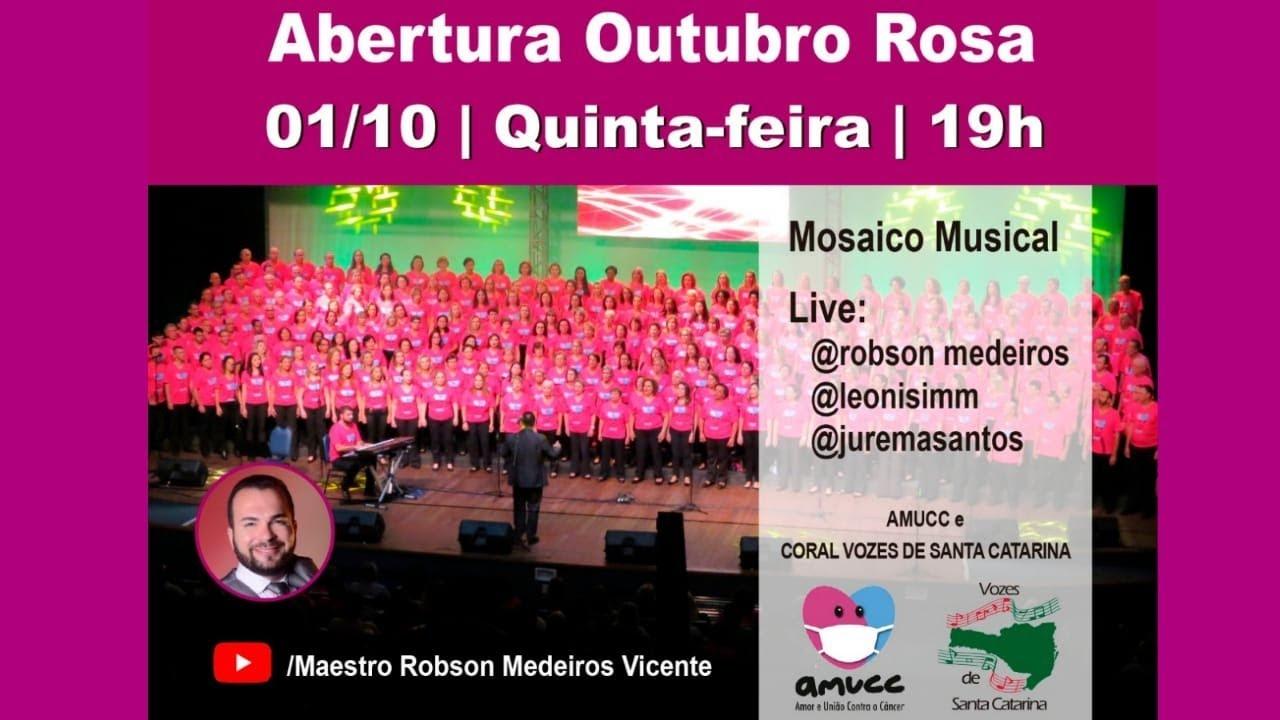 Live da Abertura do Outubro Rosa 2020