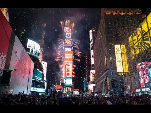 Live HD :New Year's Eve 2017 Times Square Ball Drop New York Countdown